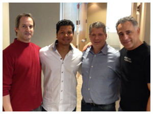 Dr Michael Messina, Dr Michael Wright, Dr Emilio Canal and Dr Ryan Kazemi