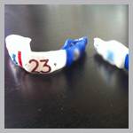 DeAngelo Hall Custom Mouthguard