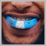 Tennesseee Titans Vincent Fuller Custom Mouthguard